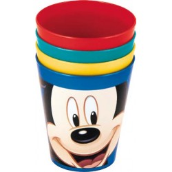 Set 4 Vasos Mickey Mouse